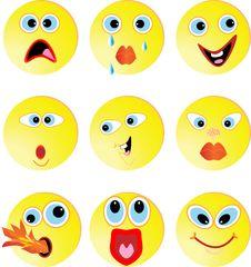 Free Smileys Stock Photography - 14998282