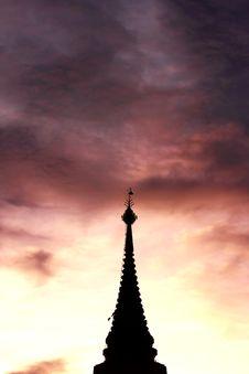 Buddhism Pagoda Royalty Free Stock Image