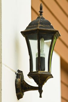 Free Lamp On The Wall Stock Photography - 14998812