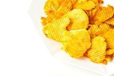Free Potato Chips Royalty Free Stock Photo - 14999055