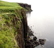 Free Kilt Rock And Mealt Falls, Skye, Wester Ross, Scotland, Uk. Royalty Free Stock Images - 14999679