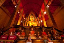 Free Buddha In The Church Stock Image - 14999841