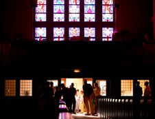 Free Back Of The Church Royalty Free Stock Images - 150489