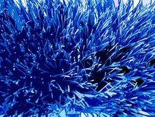 Free Blue Toned Spiky Background Stock Photos - 150613