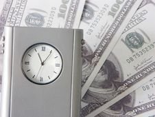 Free Time Is Money Royalty Free Stock Photo - 155115