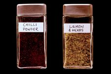 Free Spice Bottles 3 Stock Photography - 155382