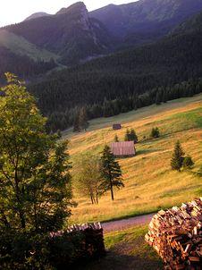 Free Tatra Fields Stock Image - 155511