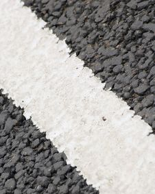 Free Road Markings Royalty Free Stock Photography - 155837