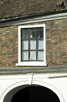 Free Wonky Window Royalty Free Stock Photo - 156255