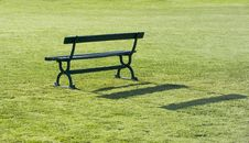 Free Park Bench Royalty Free Stock Photography - 156677