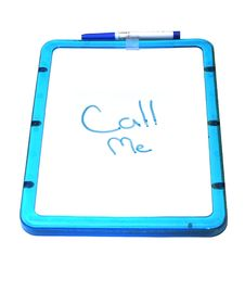 Free Dry Erase Board Royalty Free Stock Photos - 156958