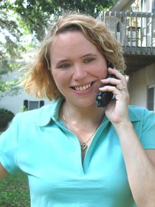 Free Woman On The Phone Stock Image - 157401