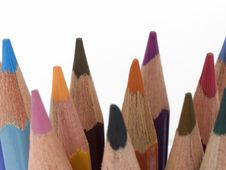 Free Pencil Crayons 1 Royalty Free Stock Photo - 159065