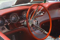 Free Red Classic Steering Wheel Stock Photography - 1507582