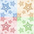 Free Christmas Ornamental Tiles Royalty Free Stock Photos - 1508828