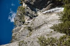 Free Water Fall Yosemite Royalty Free Stock Photography - 1500437