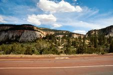 Free Zion National Park Royalty Free Stock Photography - 1501257