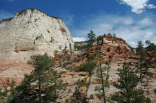 Free Zion National Park Stock Images - 1501384