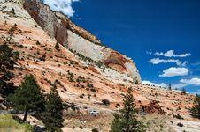 Free Zion National Park Royalty Free Stock Images - 1501469