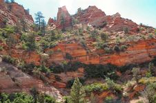 Free Zion National Park Royalty Free Stock Image - 1501506