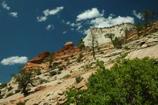 Free Zion National Park Stock Image - 1501571