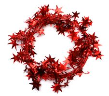 Free Garland Star Wreath Stock Photography - 1501672