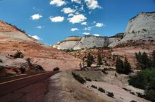 Free Zion National Park Stock Photography - 1501682