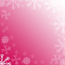 Free Snowflakes Frame Royalty Free Stock Photos - 1503118