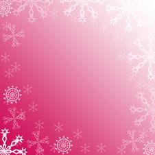 Free Snowflakes Frame Royalty Free Stock Photos - 1503118
