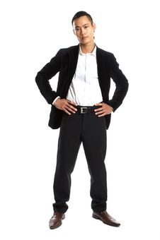 Free Young Asian Businessman Stock Photo - 1504120