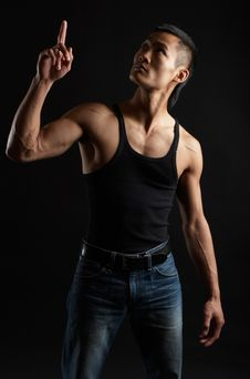 Free Tough Asian Guy Royalty Free Stock Image - 1504346
