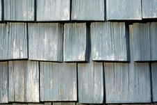 Free Weathered Wooden Shingles Stock Photography - 1504652