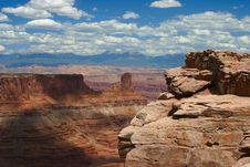 Free View At Dead Horse Point State Park Stock Photo - 1504990