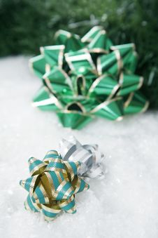 Free Christmas Bow Stock Photos - 1505003