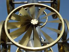Free Wind Wheel Royalty Free Stock Photography - 1505357