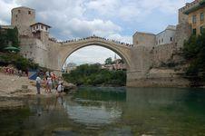 Free Mostar, Old Market Royalty Free Stock Photos - 1505458