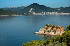 Sveti Stefan Island / Saint Stefan Island Stock Images