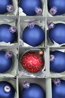 Free Christmas Balls Stock Photo - 1507600