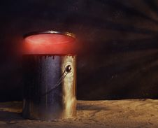 Free Exploding Paint Can Royalty Free Stock Image - 1508126