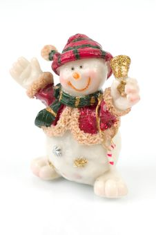 Free Snowman Figures Royalty Free Stock Photography - 1509707