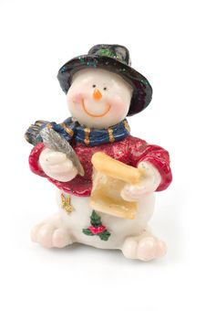 Free Snowman Figures Stock Photo - 1509710