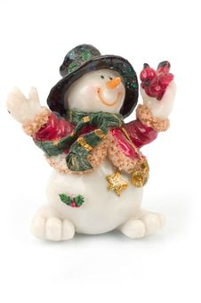 Free Snowman Figures Stock Photography - 1509712