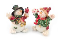 Free Snowman Figures Stock Images - 1509714