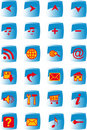 Free Web Buttons Set Royalty Free Stock Images - 15005439