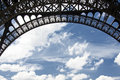 Free Eiffel Tower And Blue Sky Royalty Free Stock Images - 15006769