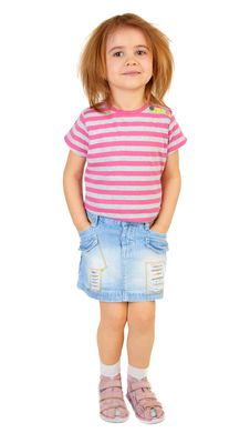 Free Little Funny Girl Stock Photos - 15000653