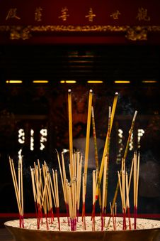 Free Joss Stick For Hope Stock Image - 15000781