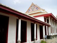 Free Main Temple Hall Royalty Free Stock Photography - 15001057