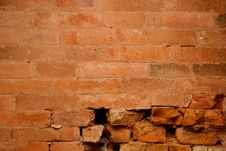 Free Baked Clay Brick Broken Stock Photography - 15001672