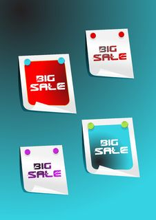 Free Sale Stickers Stock Photos - 15002163